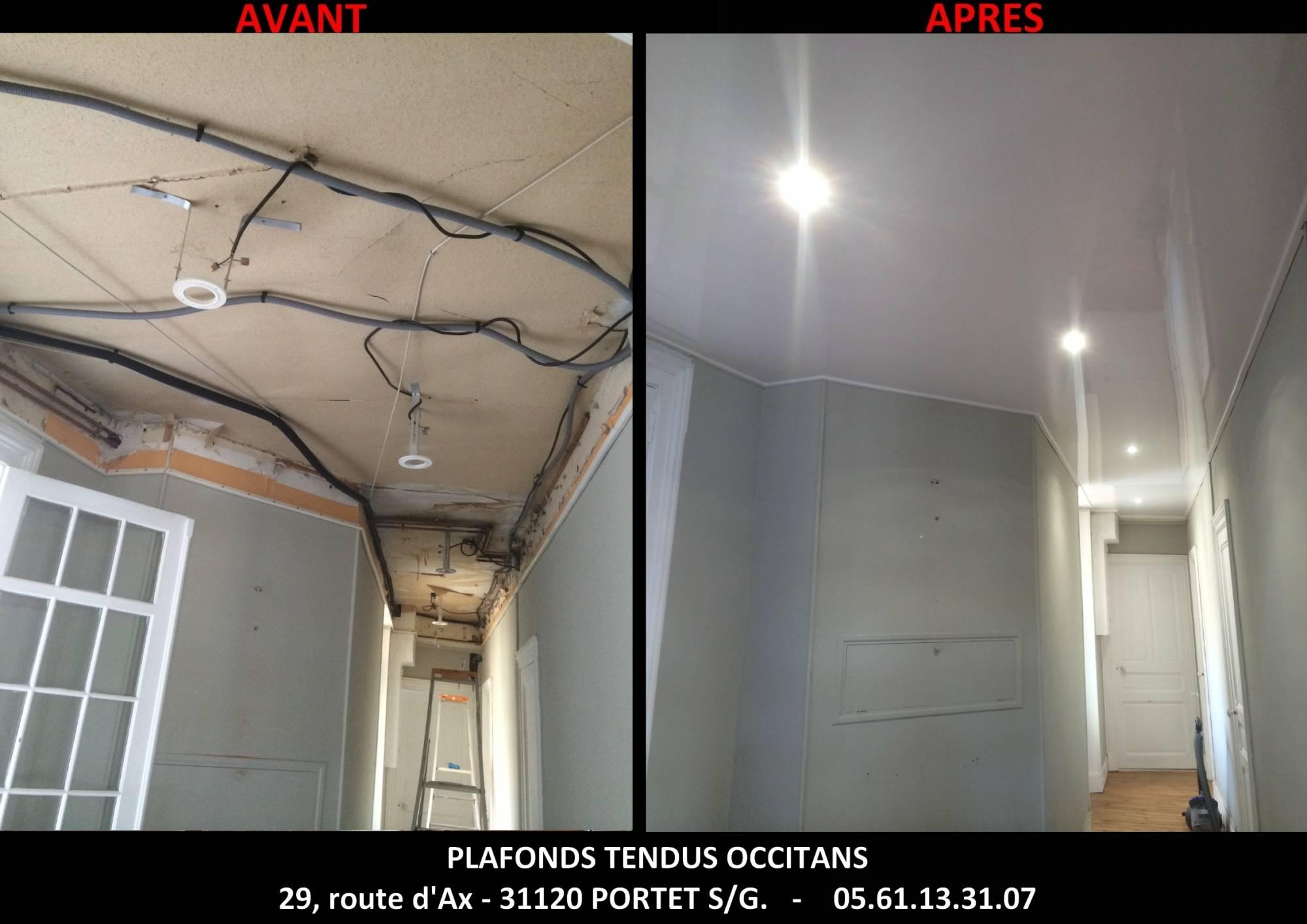 comment installer des spots dans un faux plafond tendu barrisol auch pose de faux plafonds. Black Bedroom Furniture Sets. Home Design Ideas