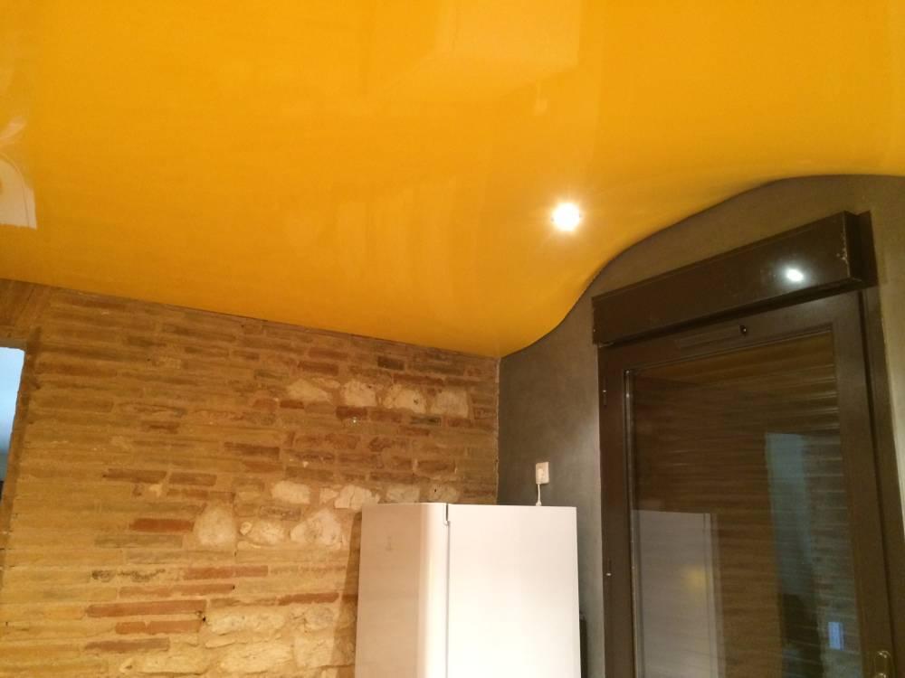 comment r aliser un plafond en forme de vague effet 3d pour une d coration originale sur pau. Black Bedroom Furniture Sets. Home Design Ideas